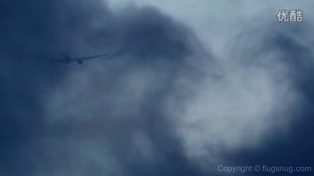 飞机,云,尾涡