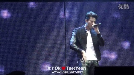 ≮It's Ok≯141101 2PM WORLD TOUR 'GO CRAZY' in BEIJING - 说爱你的话 Taec Ver.