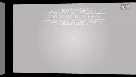 高贵华丽圣诞节动态PPT商务庆典模板