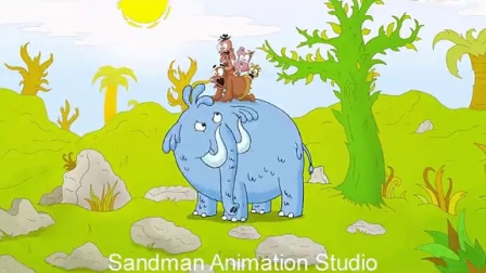 SANDMAN ANIMATION STUDIO - KIERON SEAMONS - STONE, BONE, ROCKS ANIMATION