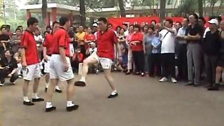 2008.06.07天津河北区第二届全民健身运动会花毽展示盈羽工作室出品