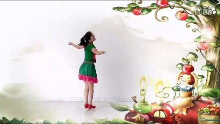 明明广场舞 我是你的小苹果(编舞:王梅)_1024x576_2.00M_h.264