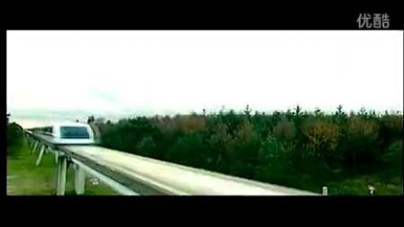 CS521高铁在桥梁快速行驶中 高清实拍视频素材