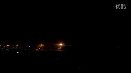 JD5724西安咸阳机场着陆