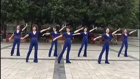 周思萍广场舞系列三步踩扎嘎拉动动广场舞