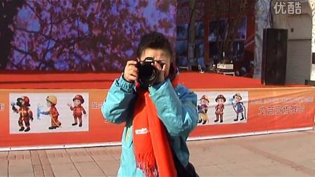 人民网黑龙江摄影团队参加消防安全宣传活动