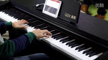 用Geek极客智能钢琴弹su_tan8.com