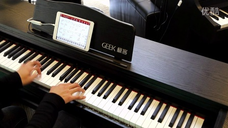 Geek极客智能钢琴学琴效果展示:愿得一人心