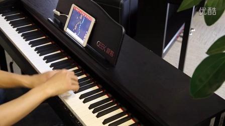 Geek极客智能钢琴学琴效果展示:雨中漫步