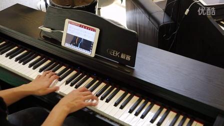 Geek极客智能钢琴学琴效果展示:月亮代表我的心