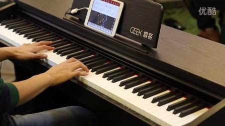 Geek极客智能钢琴学琴效果_8m0l5xgw.com