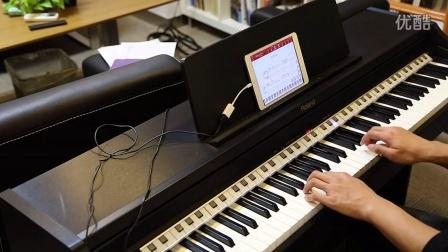 Geek极客智能钢琴学习机跟弹:同桌的你