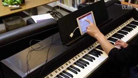 Geek极客智能钢琴学习机:轻松学会弹奏《天空之城》