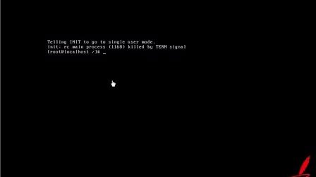 Linux教程 Linux零基础到实战37-实战-找回公司旧服务器上丢失密码的root用户身份-进Linux单用户模式方法