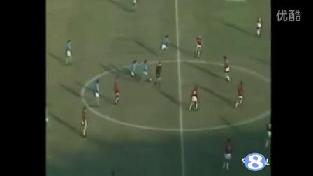 88/89意甲那不勒斯4-1米兰 马拉多纳1射1传完胜荷兰三剑客