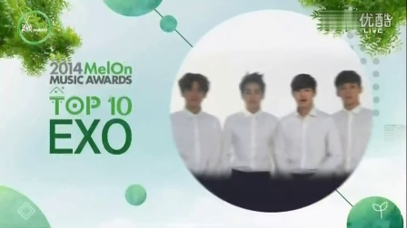 【超清】141114更2014 MELON MUSIC AWARDS EXO 宣传视频