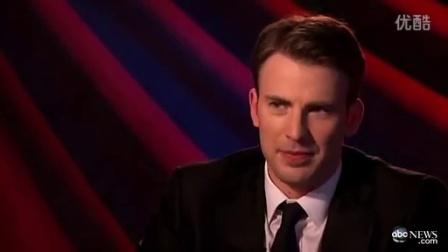 Chris Evans《美队1》时期 ABCnews采访·part2 清唱小熊维尼