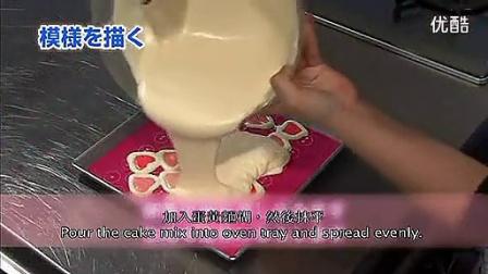 春天烘焙坊教您制作美丽彩绘蛋糕卷_标清