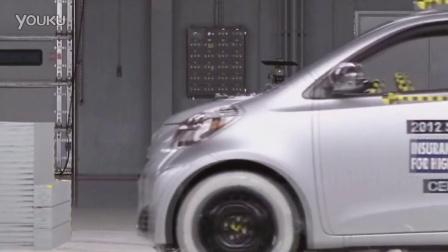 2012款Scion iQ 正面40%碰撞测试
