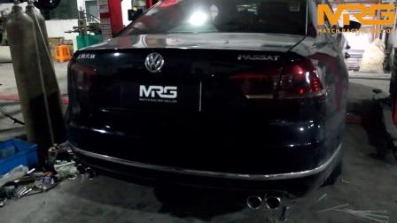 MRG出品 大众帕萨特改装MRG阀门款排气录音