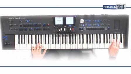 Roland BK-9 BK9编曲键盘德国演示(1)【中国电子琴信息网转】