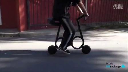 【触动力】可折叠放进背包的电动自行车Impossible
