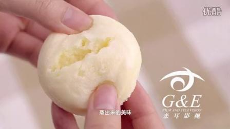 陈奕轩拍摄的巴比熊蒸蛋糕广告