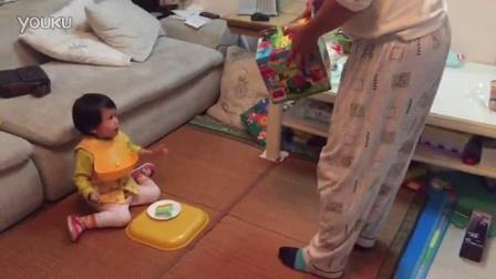 14年11月18日:方方两岁生日快乐!爸爸送乐高玩具