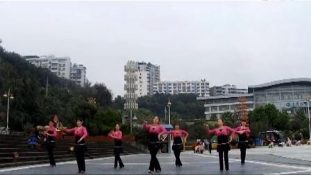万州姐妹广场舞爱的飞翔