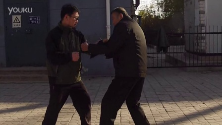 任忠信老师辅导郑俊利形意拳发人技法
