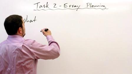 雅思: 写作任务二: 写作的策略与例子讲解第一部分