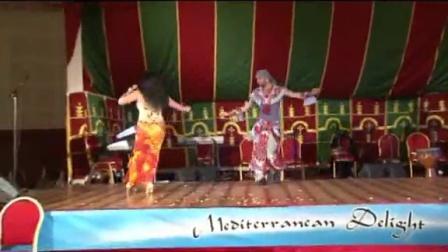 Asmahan AND asi haskal  - Mediterranean Delight Festival - Morocco 跳舞