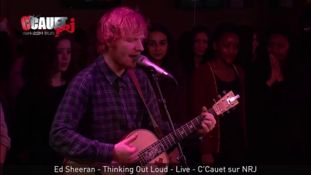 【九月】Ed Sheeran NRJ电台现场《Thinking Out Loud》
