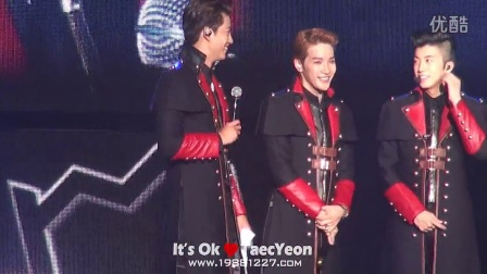 ≮It's Ok≯141101 2PM WORLD TOUR 'GO CRAZY' in BEIJING - 玉泽演说中文片段汇总