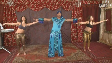 Belly Dance Lesson Beginners  With ASI Haskel 肚皮舞入门课  跳舞