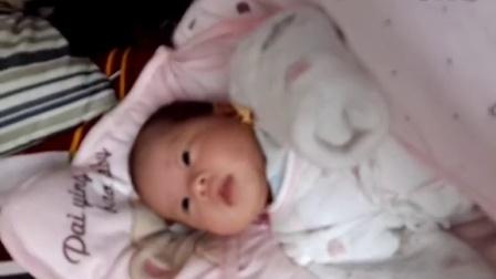 宝宝出生第二十六天,舞蹈