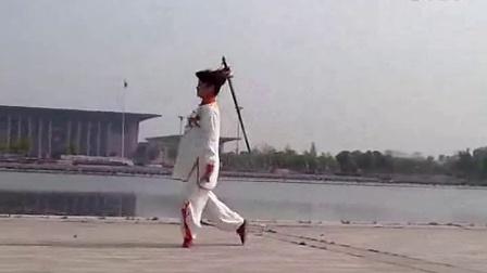24式太极剑带口令(张丽)(张群配音制作)