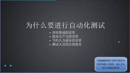 乙醇的selenium java视频(1)关于自动化测试