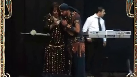 ASI HASKAL  with orchestra imitations of egyyptian dancers    男肚皮舞