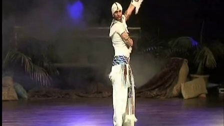 ASI HASKAL SHOWE in Belly Dance Festival in Spain 男肚皮舞