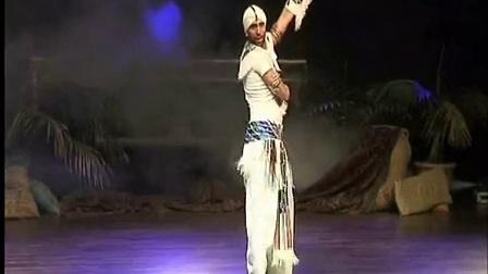 ASI HASKAL SHOWE in Belly Dance Festival in Spain 男肚皮舞