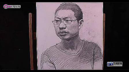 乔建国-戴眼镜青年写生_标清