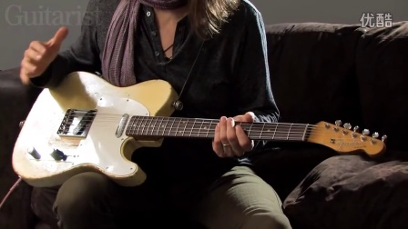 Robben Ford on his blonde 1960 Telecaster