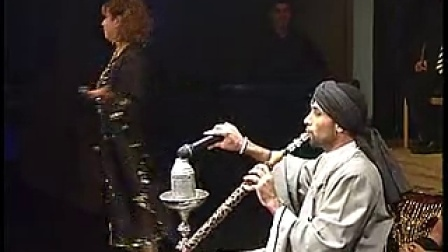 ASI Haskel belly dancing show at the theater with a live band  男肚皮舞