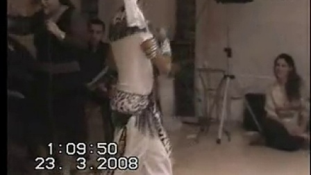 ASI Haskel belly dancing show  with a live band  男肚皮舞