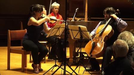 黎卓宇(George Li)演奏門德爾松的D小調三重奏,作品49