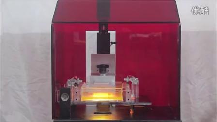 SLA打印机工作视频 全程高清3D打印