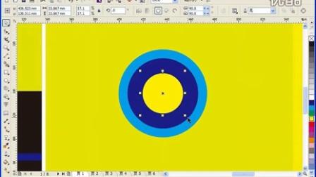 CorelDRAW高级教程 教材类--色彩构成封面设计cdr教程