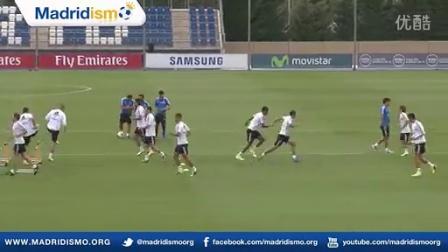 皇马训练视频