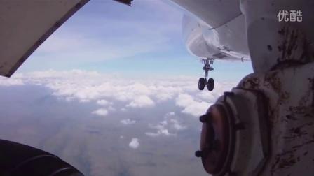 偷渡者视角拍747起降超剌激